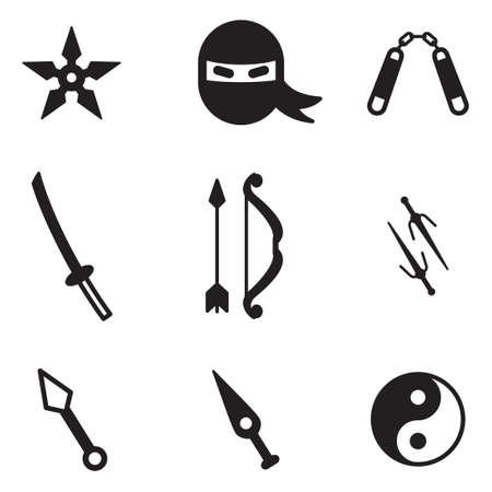 arts symbols: Ninja Icons