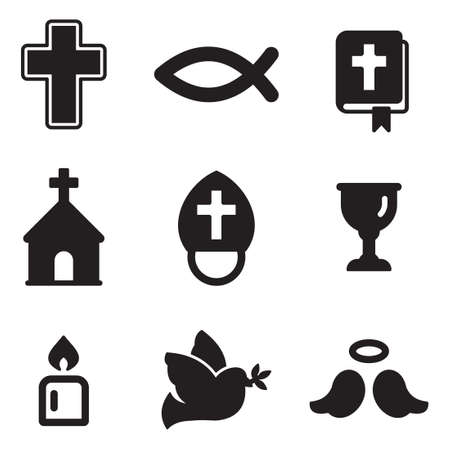 christianity icons royalty free cliparts vectors and stock
