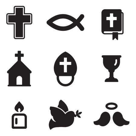 christian fish: Cristianismo Iconos