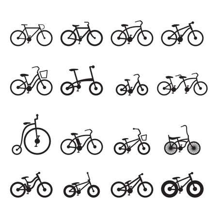 bicyclette: Ic�nes v�lo