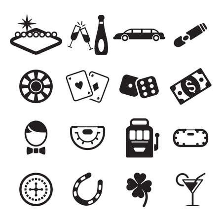 Las Vegas Icons Ilustração