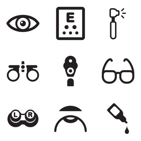 diopter: Optometry Icons
