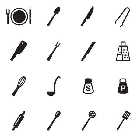 meat chopper: Dinner Set Icons