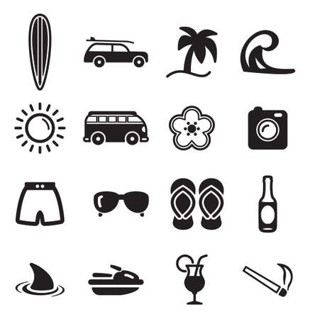 Surfing Icons