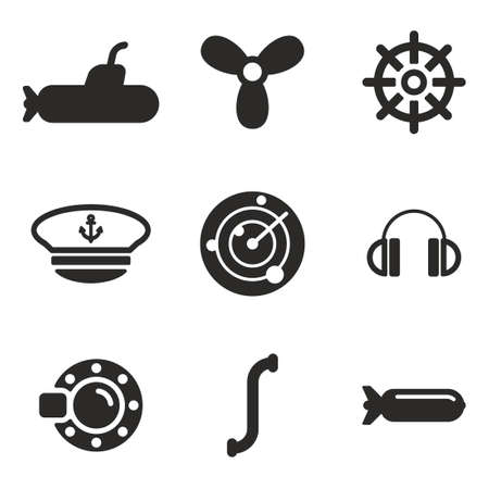 stealthy: Submarine Icons