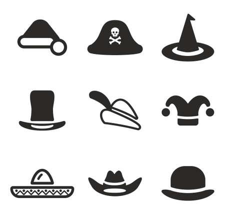 bruja sexy: Sombrero Iconos