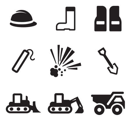 gold shovel: Quarry Icons