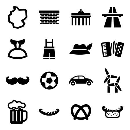 autobahn: Germany Icons