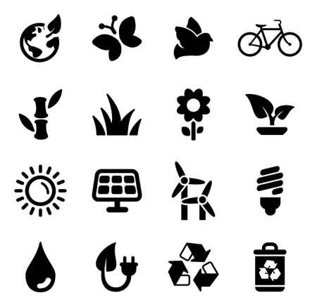 Ecology Icons 向量圖像