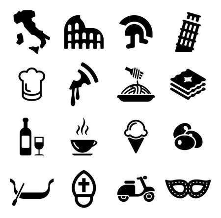 Italië Icons Stockfoto - 47612775