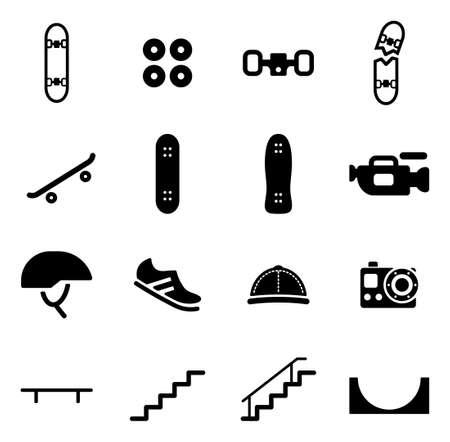 skate park: Skateboarding Icons