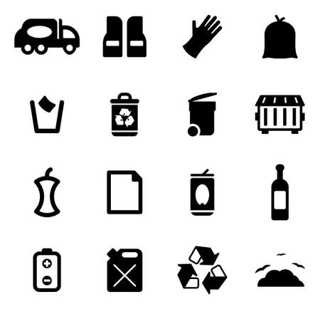 metal working: Garbageman Icons
