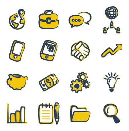 thrive: Manager Icons Freehand 2 Color