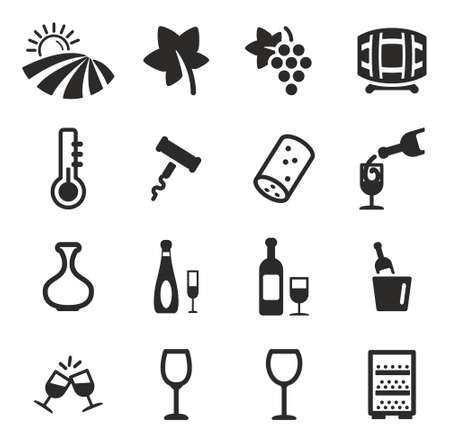 white wine: Wine Icons