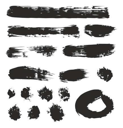 01: Brush Strokes Set 01