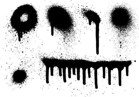 graffiti: Spray Paint Elements Set 07