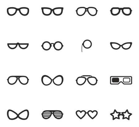 eyeglasses: Eyeglasses Icons