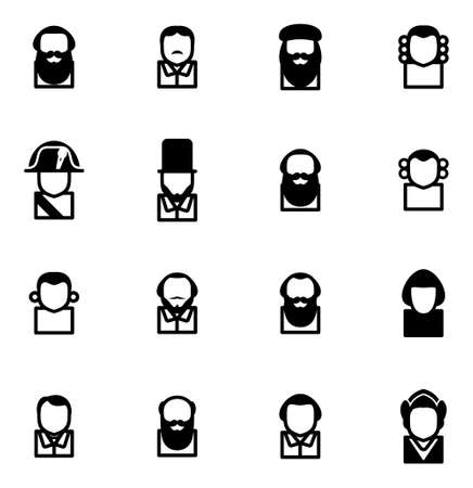 jefferson: Avatar Icons Historical Figures