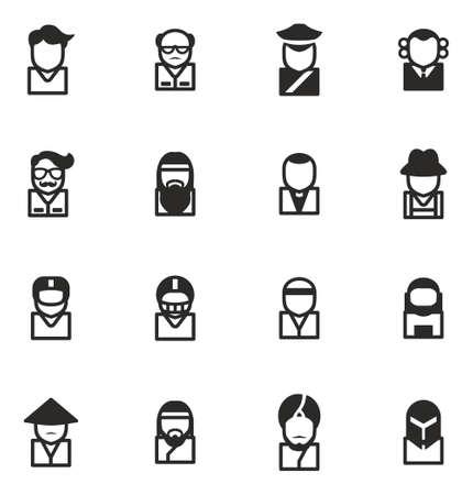 sheik: Avatar Icons Set 3