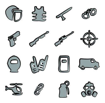 swat: SWAT Icons Freehand 2 Color