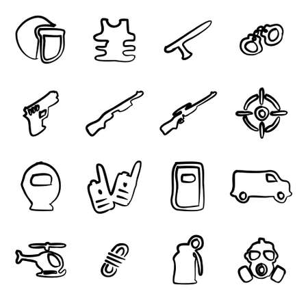 swat: SWAT Icons Freehand