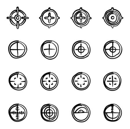 gunpoint: Crosshair Icons Freehand