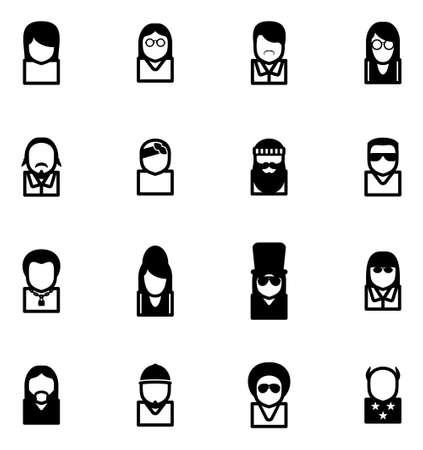 bono: Avatar Icons Famous Musicians Set 2