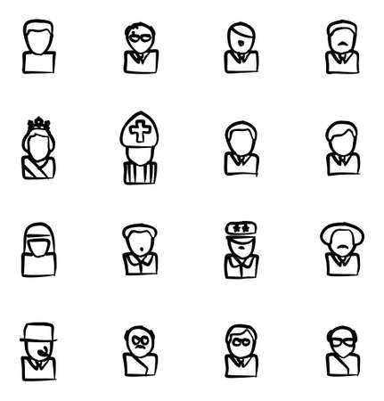 아바타 아이콘 20 세기 역사적인 인물 자유형