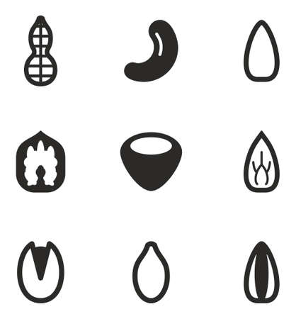 snacks: Healthy Snacks Icons
