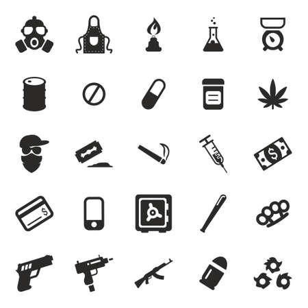 drug dealer: Drug Cartel Icons