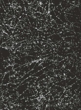 Crumpled Paper Background Black