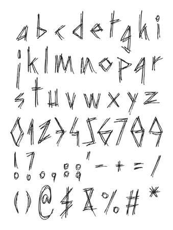 w c: Punkwritting Font Small