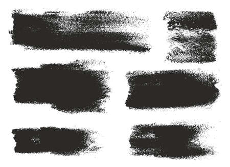eroded: Paint Roller Strokes Vector Patterns & Vector Backgrounds Set 13
