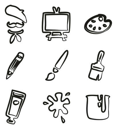 Artist Icons Freehand
