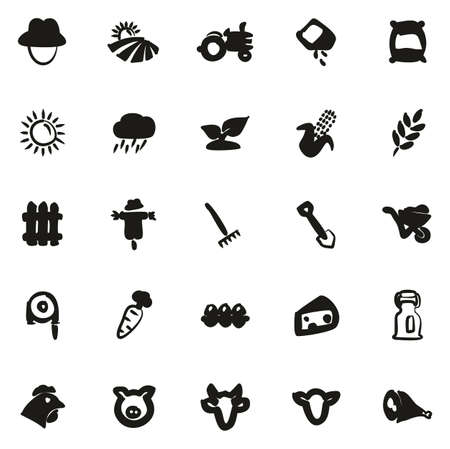 muck: Farm Icons Freehand Fill
