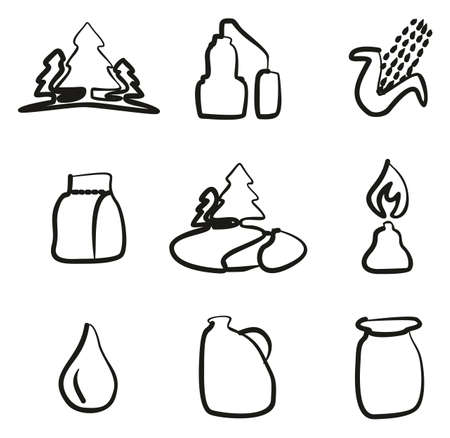 moonshine: Moonshine Icons Freehand Illustration