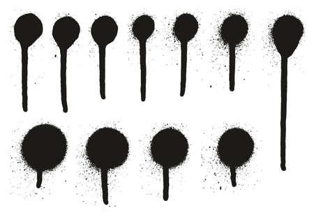 spray paint high detail drip dots abstract vector backgrounds rh 123rf com spray paint can vector spray paint vector free