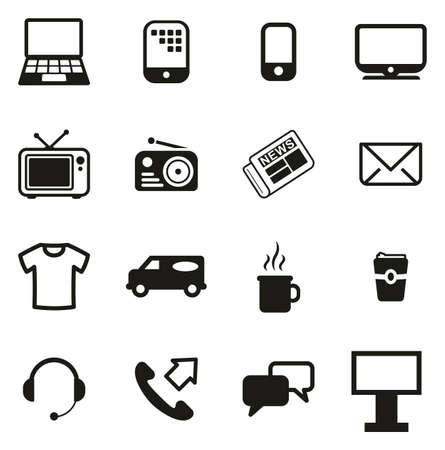 Advertising Media Icons