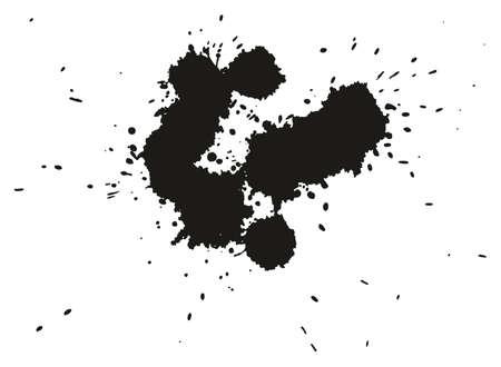 Paint Splatter Dots, Splashes & Backgrounds Set 12