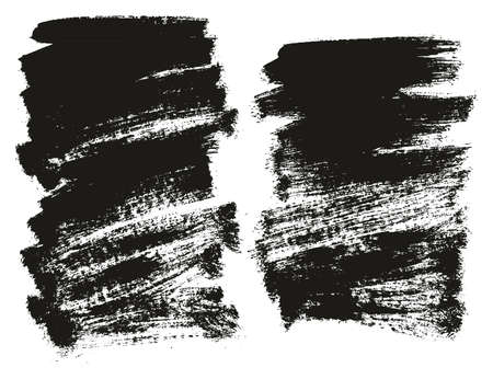 Paint Brush Background High Detail Abstract Vector Background Set 101 Ilustração