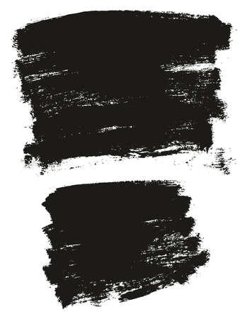 Paint Brush Background High Detail Abstract Vector Background Set 38 Ilustração