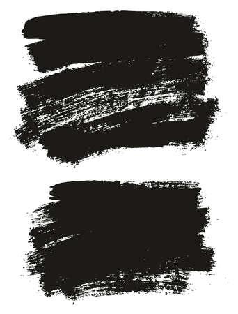 Paint Brush Background High Detail Abstract Vector Background Set 27 Ilustração