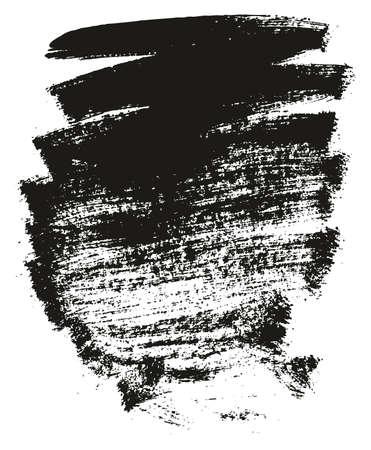 Paint Brush Background High Detail Abstract Vector Background Set 16 Ilustração