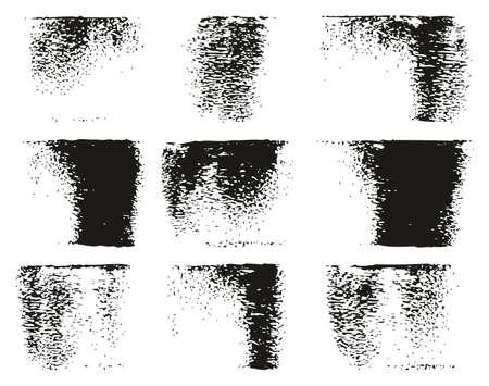 Paint Roller Lines High Detail Abstract Vector Lines & Background Set 66 Ilustração
