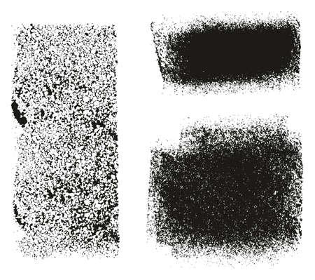 Paint Roller Rough Backgrounds & Lines High Detail Abstract Vector Lines & Background Mix Set 129 Ilustração