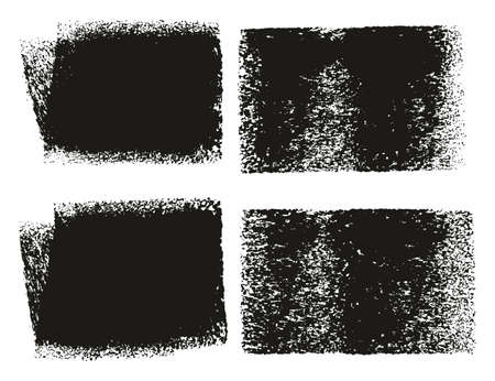 Paint Roller Rough Backgrounds & Lines High Detail Abstract Vector Lines & Background Mix Set 38