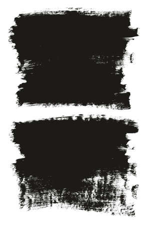 Calligraphy Paint Brush Background High Detail Abstract Vector