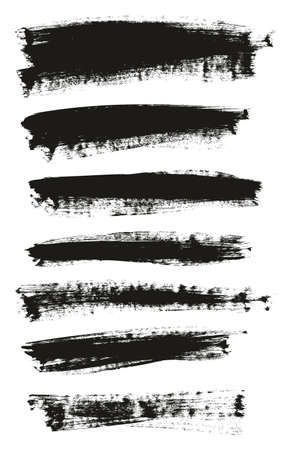 Calligraphy Paint Brush Background Mix High Detail Abstract Vector Background