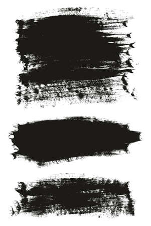 Calligraphy Paint Brush Background Mix High Detail Abstract Vector Background Ilustração Vetorial
