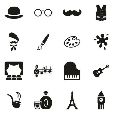 Bohemian Lifestyle Icons